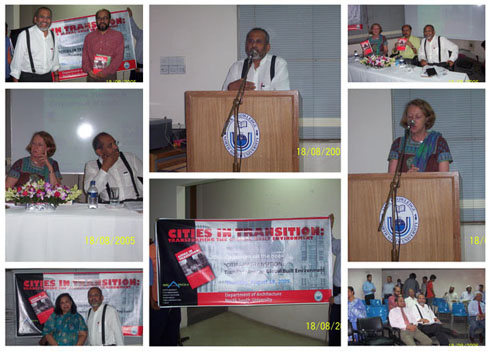 Scenes from the launch of Cities in Transition at NSU, Dhaka, Bangladesh