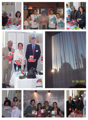 Scenes from the launch of Cities in Transition at 22nd Congress of UIA in Istanbul, Turkey